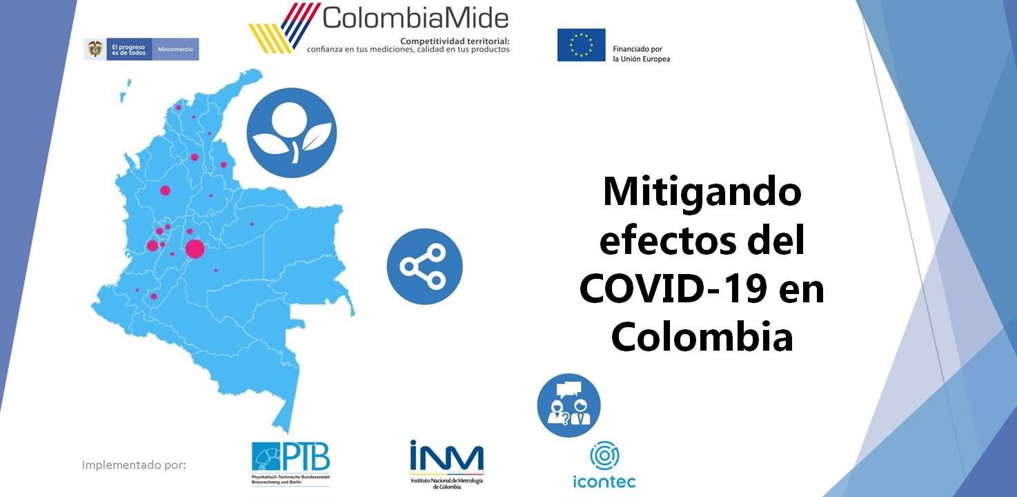 Apoyo de la UE a Mipymes del país a través de ColombiaMide ante emergencia por el COVID-19
