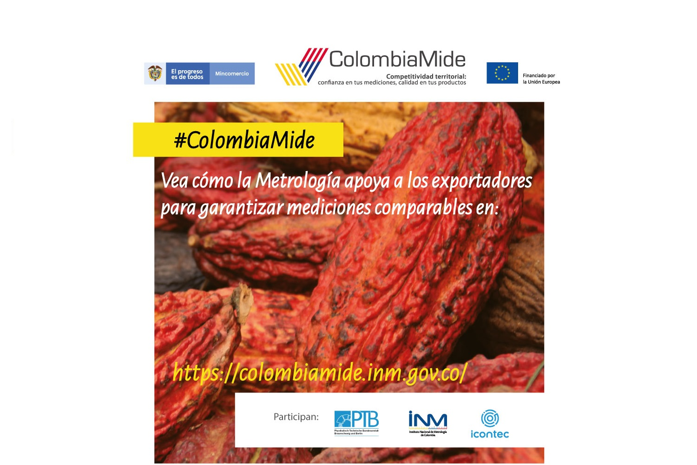 ColombiaMide. Invitación a participar en la encuesta sobre técnicas y métodos para determinación de metales pesados en alimentos