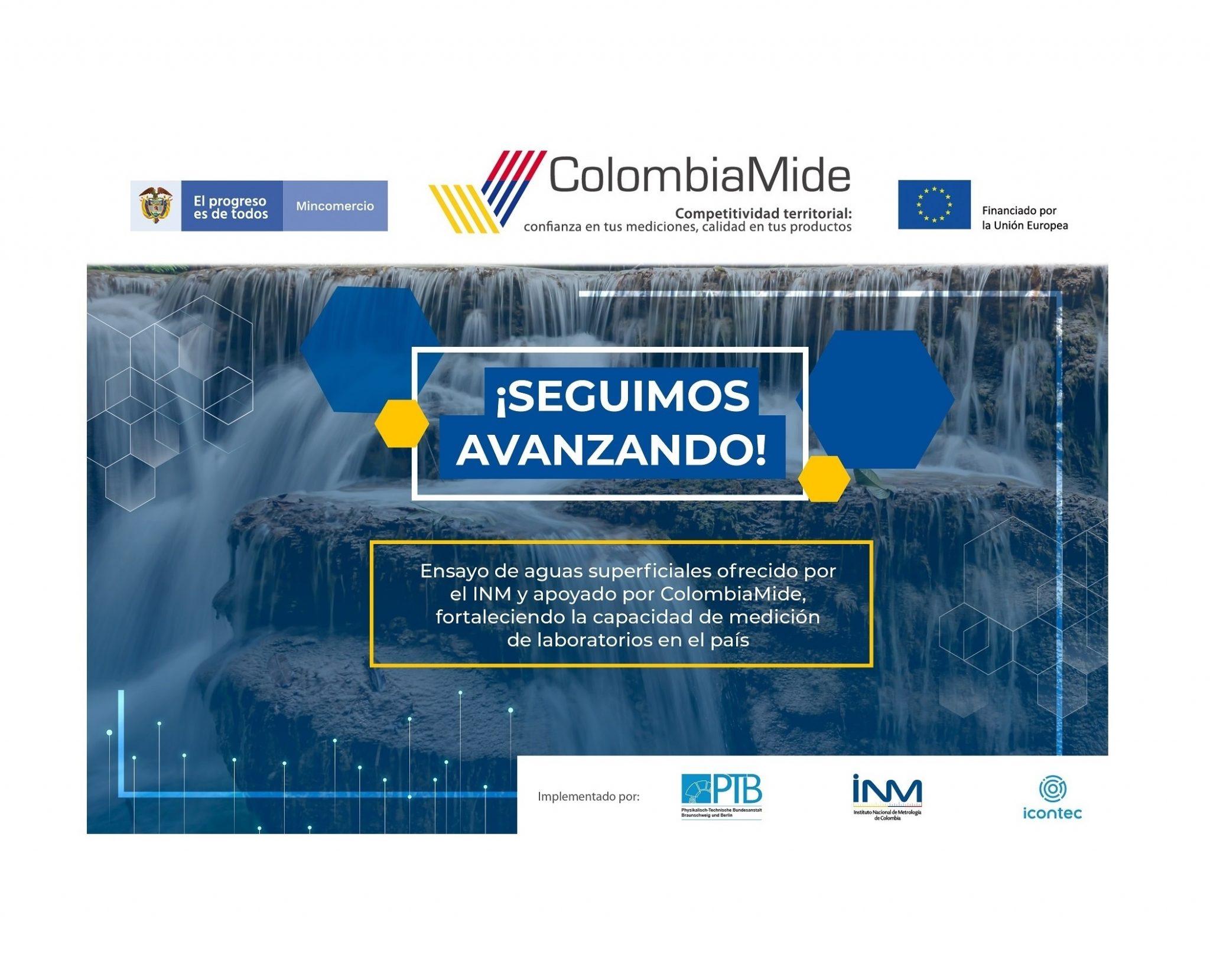 ColombiaMide apoya el fortalecimiento de capacidades de laboratorios de ensayo del país en la medición de elementos químicos en aguas superficiales