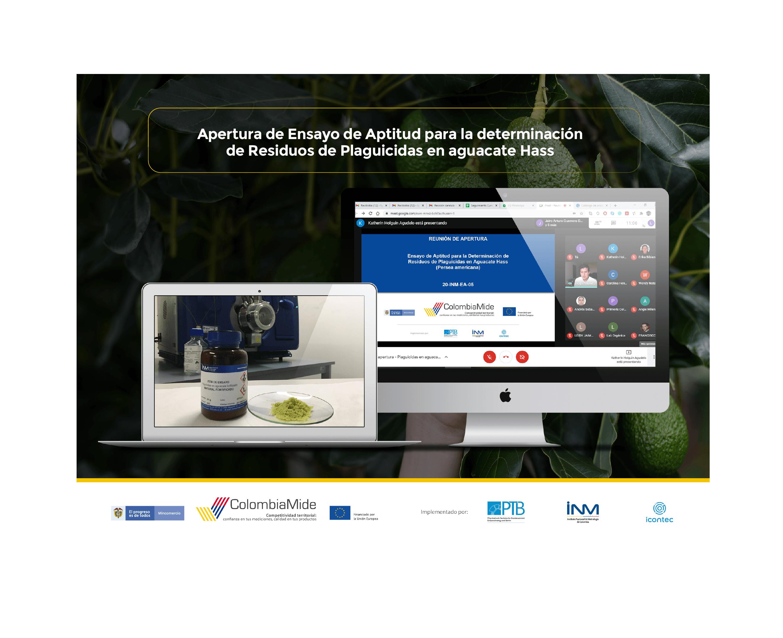ColombiaMide. Apertura de Ensayo de Aptitud para la determinación de Residuos de Plaguicidas en Aguacate Hass