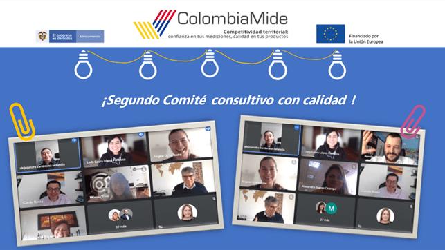 2º Comité consultivo: Calidad para la competitividad – Reduciendo las brechas de calidad en Micro, Pequeñas y Medianas Empresas en regiones de Colombia